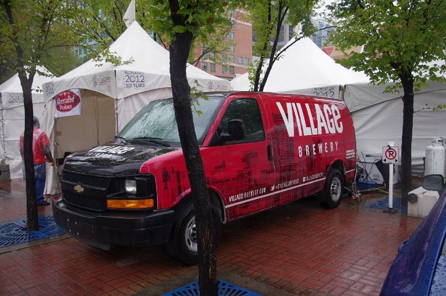 Village Brewery Sponsorship