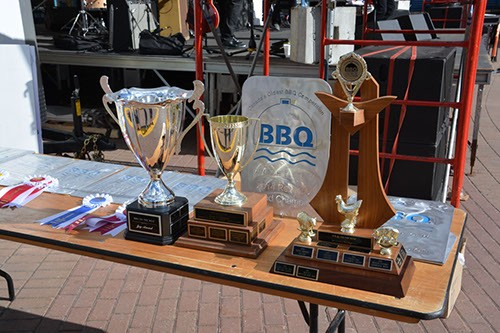 BBQ on the Bow Trophies