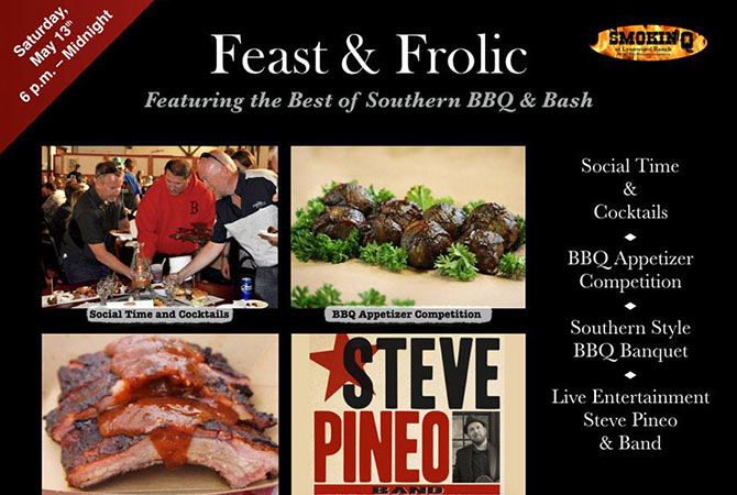 Feast & Frolic Bash – The Best Of Southern BBQ And Dance