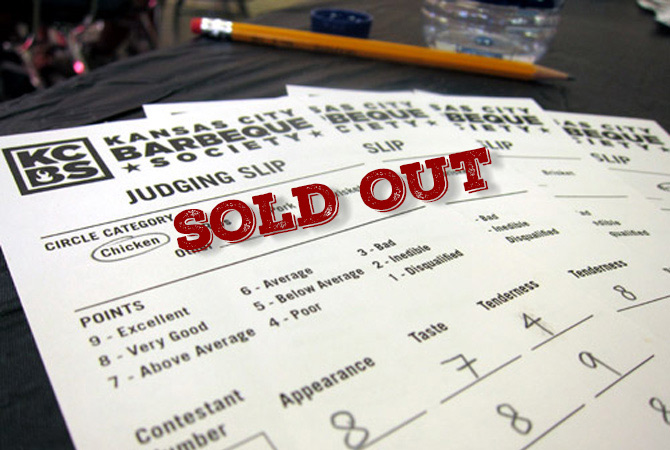 Kcbs Judging Classes Soldout